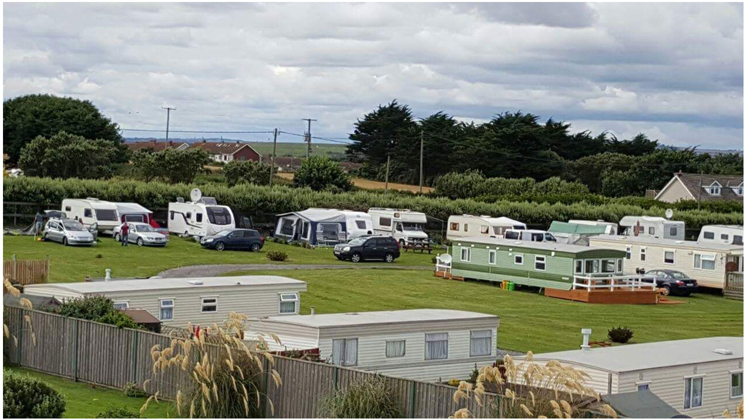 Aerial-View-Lynders-Mobile-Home-Park-Portrane-Donabate-North-County-Dublin-Fingal