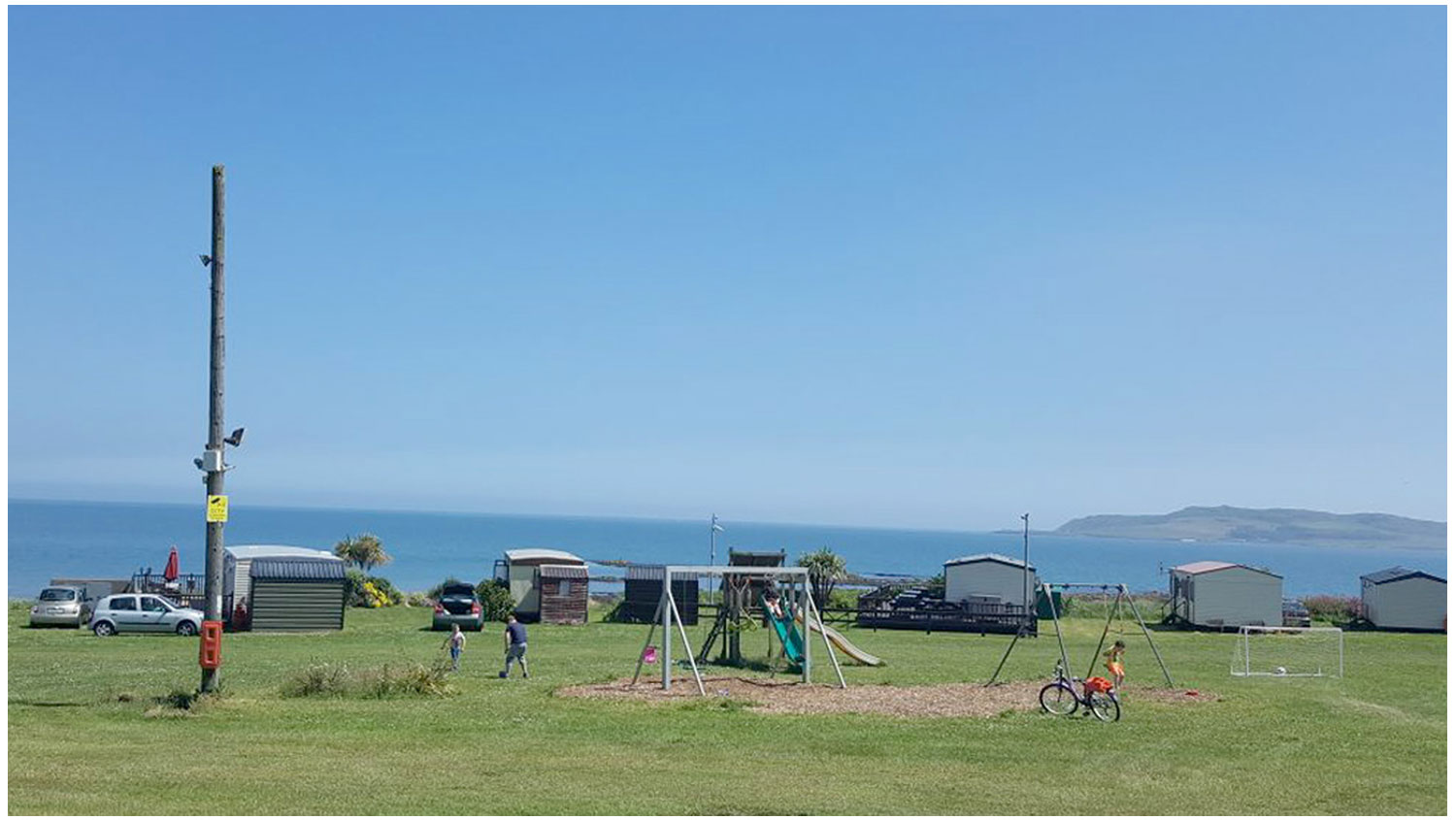 Playground-Area1-Camping-Campervans-Motorhomes-Lynders-Mobile-Home-Park-Portrane Donabate-North-County-Dublin-Fingal