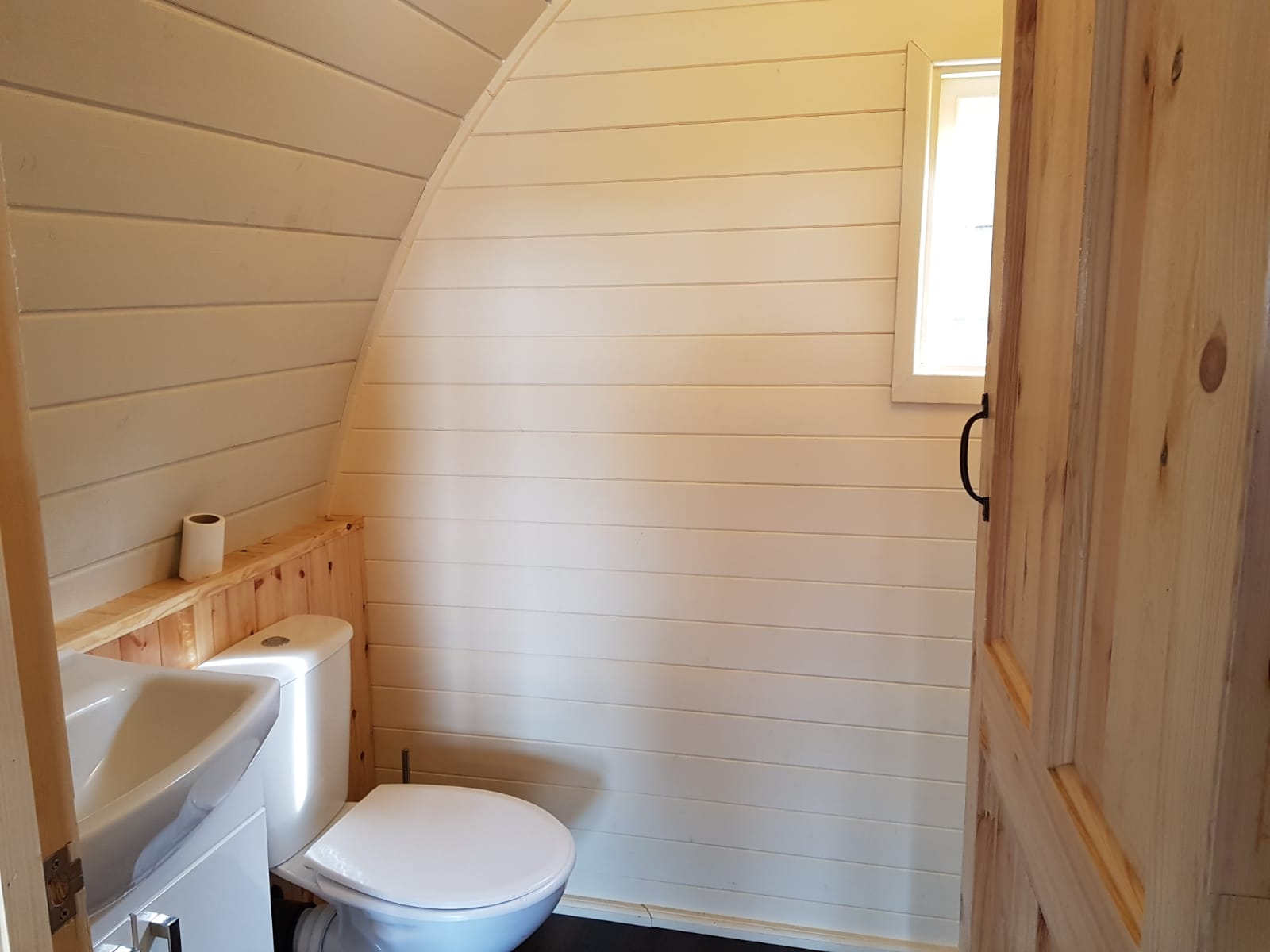 The Wallaby Lodge Dome 2019 - Lynders Mobile Home Park - Ensuite