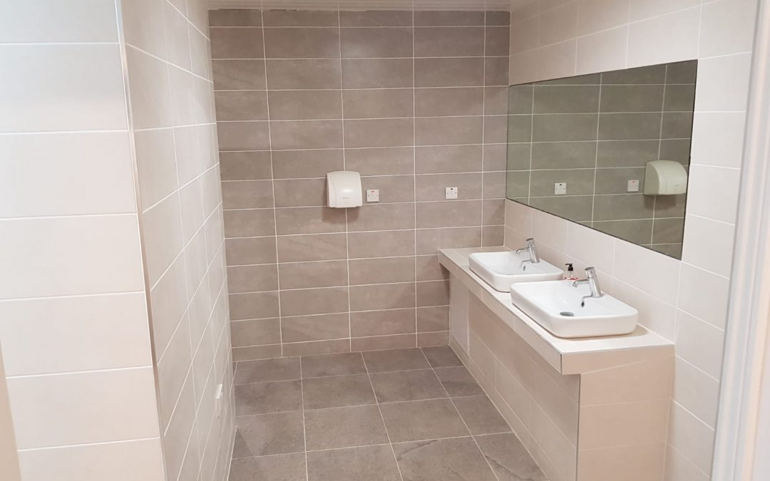 NEW Refurbished Ladies Toilet & Shower Block 2019