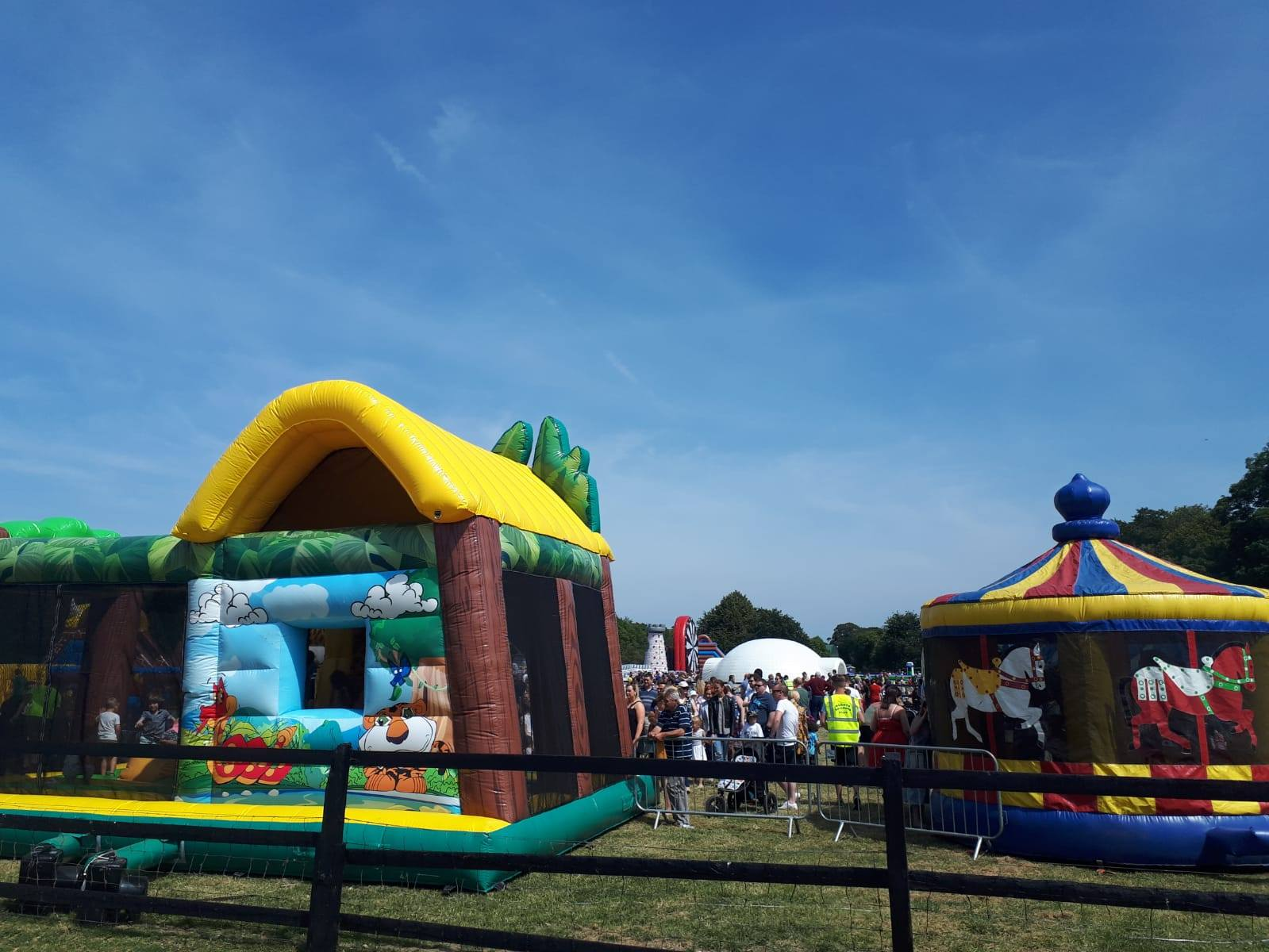 Bouncy Castles, Flavours of Fingal - Lynders Mobile Home Park 2019