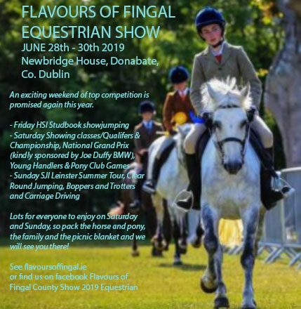 Equestrian Show, Flavours of Fingal - Lynders Mobile Home Park 2019