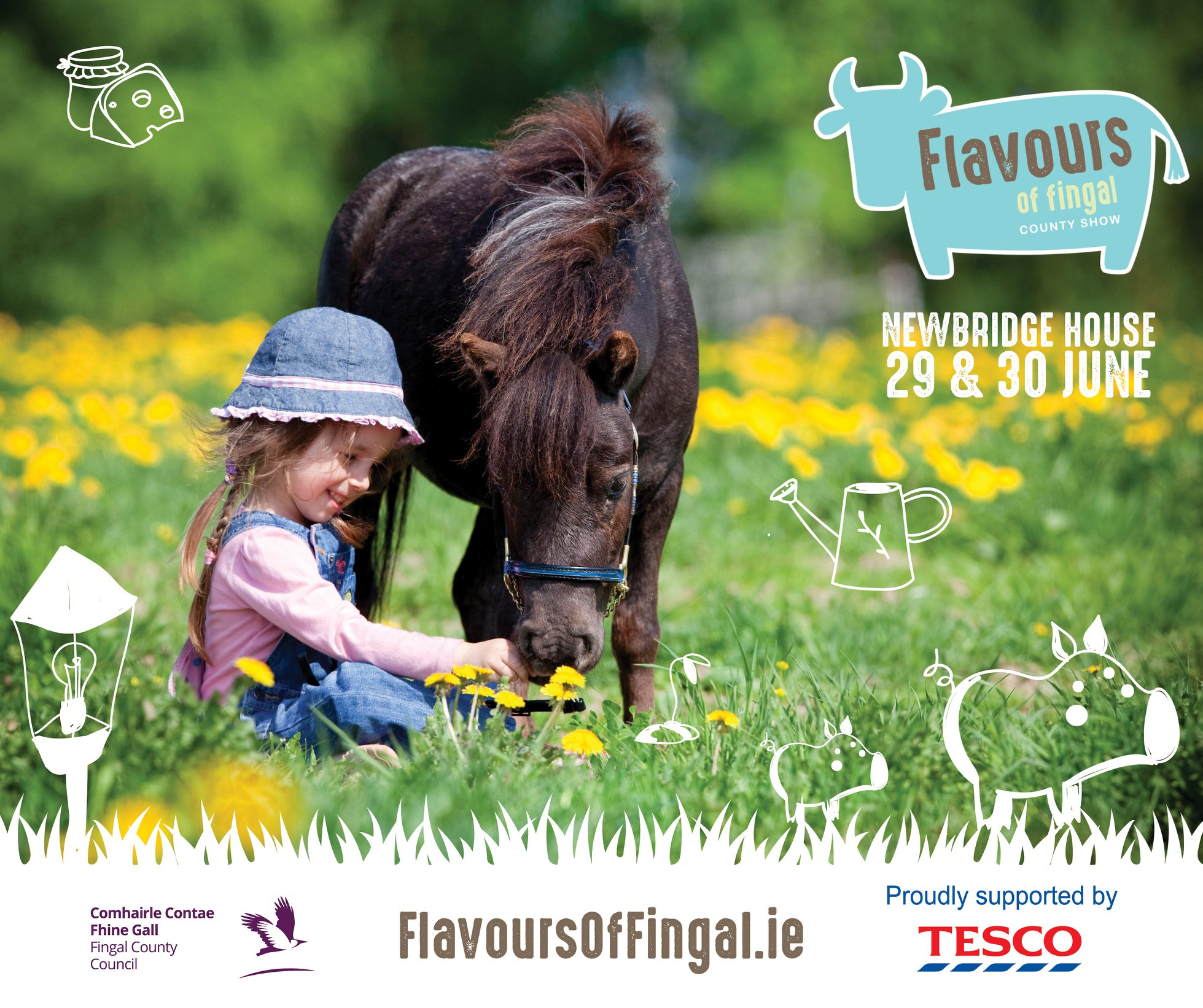 Flavours of Fingal- Pony & Girl - Lynders Mobile Home Park 2019