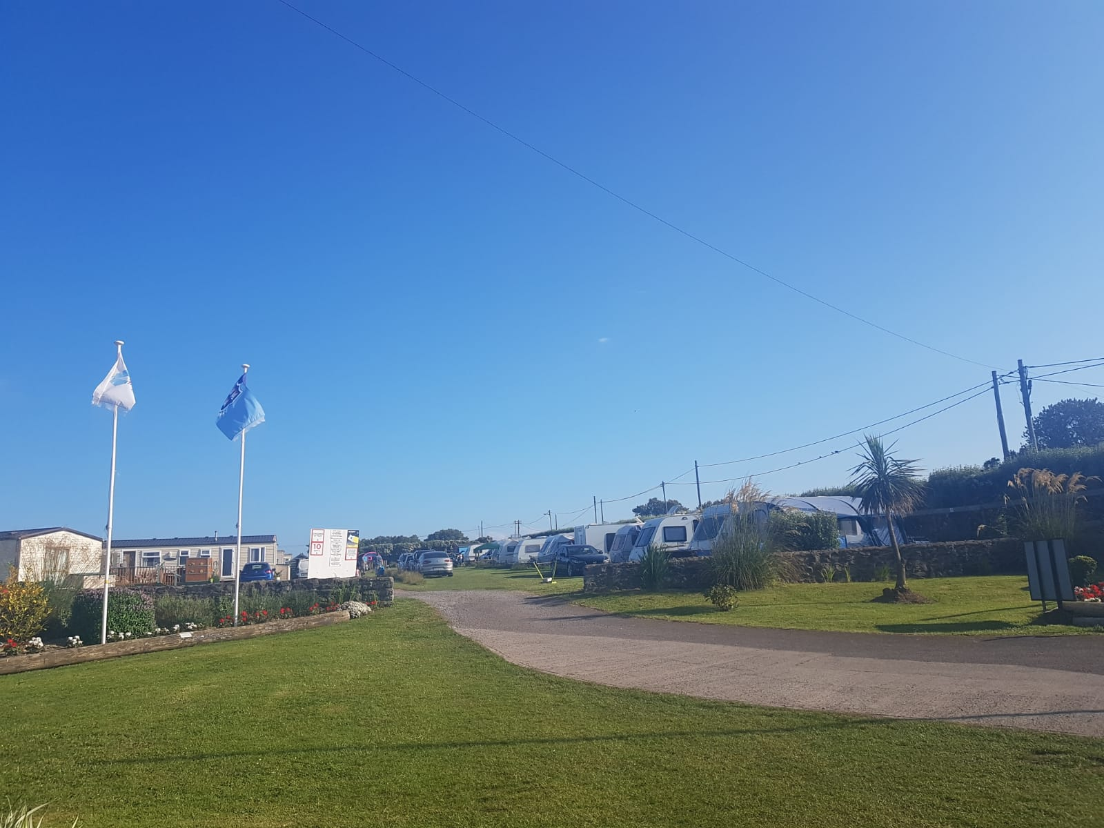 Busy Day for Flavours of Fingal 2019 - Lynders Mobile Home Park