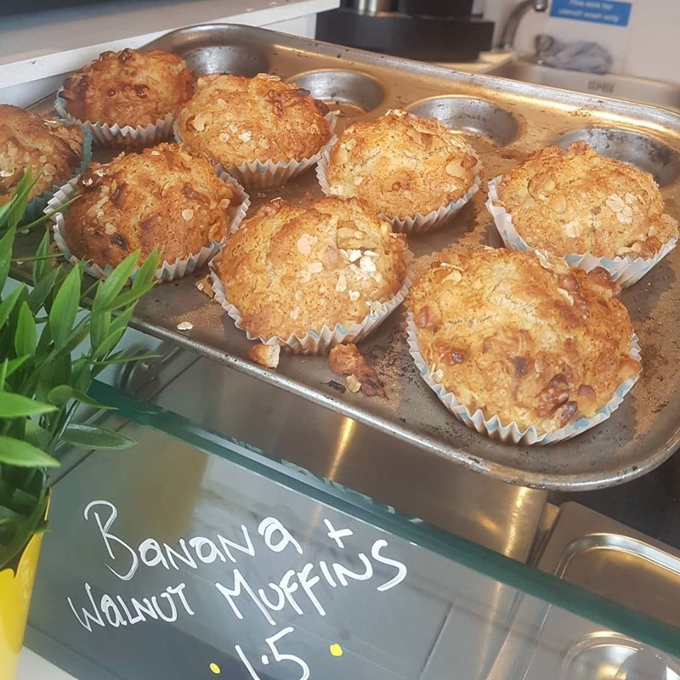 Banana and Walnut Muffins - Toms Things@ Lynders Mobile Home Park