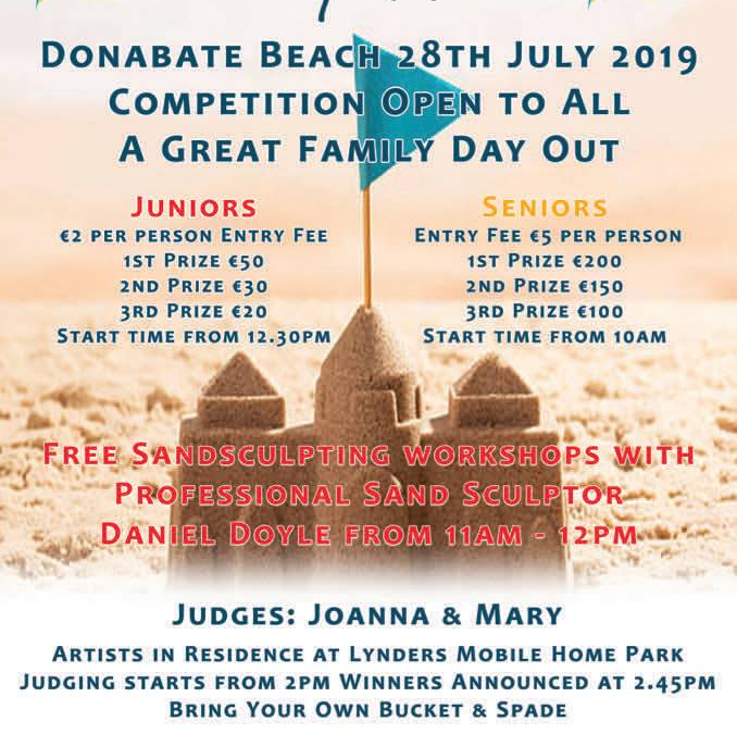 Family Day Out – Sandcastle Competition