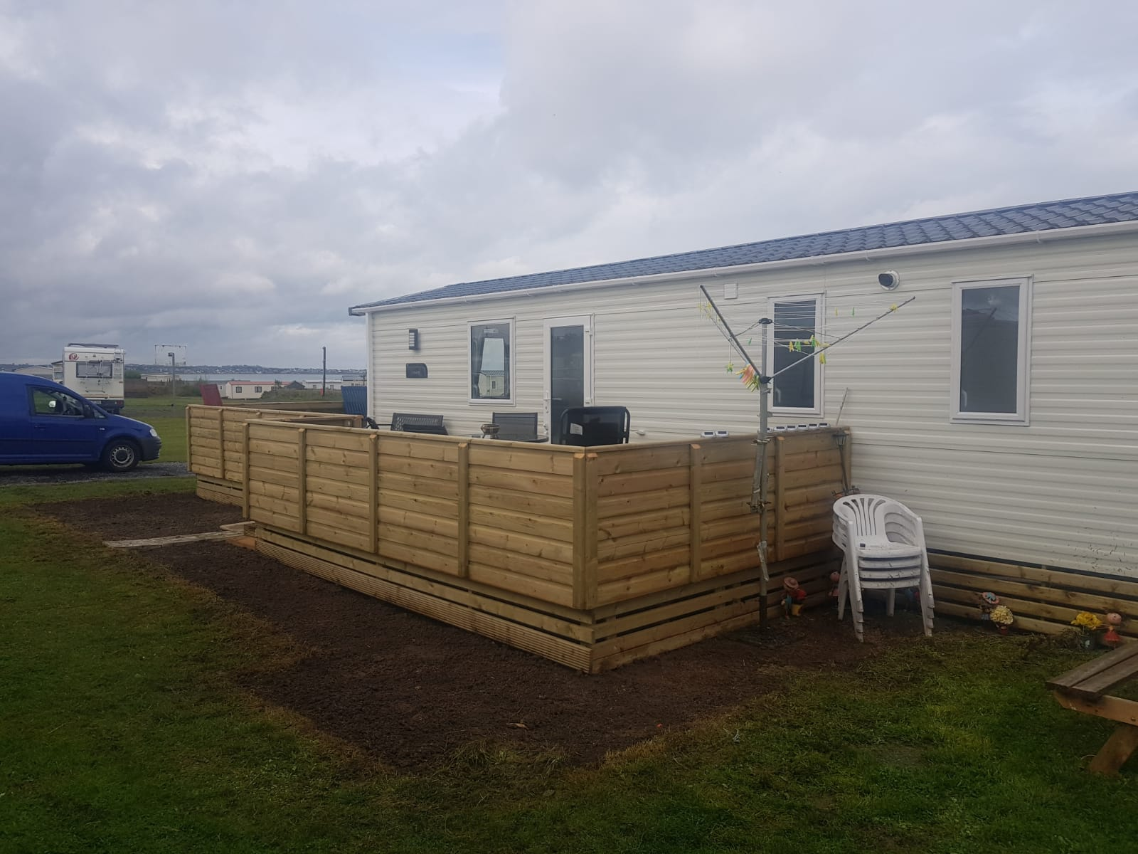 New Mobile Home & Decking @ Lynders Mobile Home Park