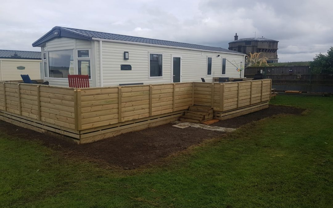 New Mobile Home & Decking @ LMHP