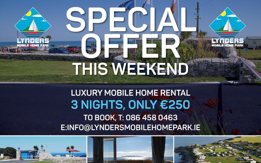 Special Offer This Weekend